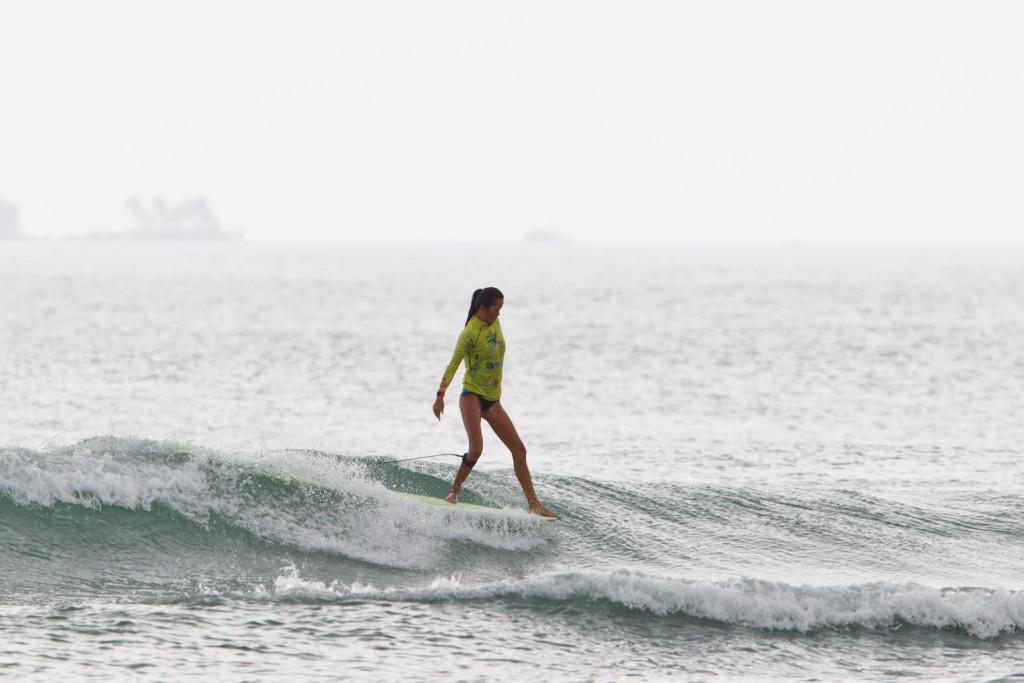 La china Guo Shujuan hizo sentirse orgulloso al país anfitrión avanzando a la Ronda 2. Foto: ISA / Tim Hain