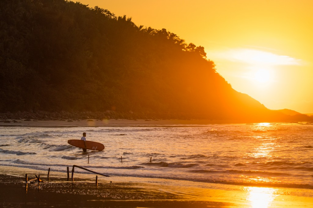 The beauty of the coast of Hainan Island will be on full display during the week of competition to come. Photo: ISA / Sean Evans