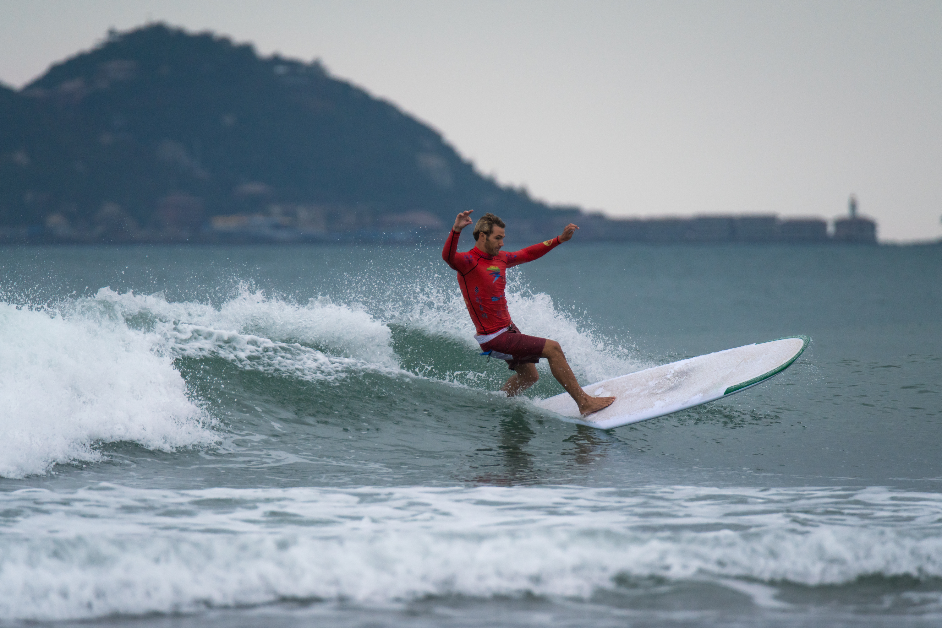 World s Best Longboarders Impress on Opening Day of Competition at ... 54f6625e7f