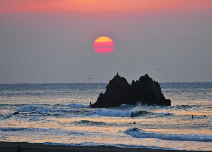 Long Beach en Tahara, Japón es el lugar elegido para celebrar los WSG este año. Foto: Tahara LOC