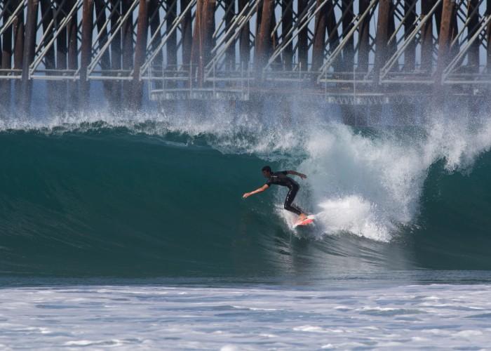 Un perfecto día de otoño en Oceanside, California. Foto: ISA / Chris Grant
