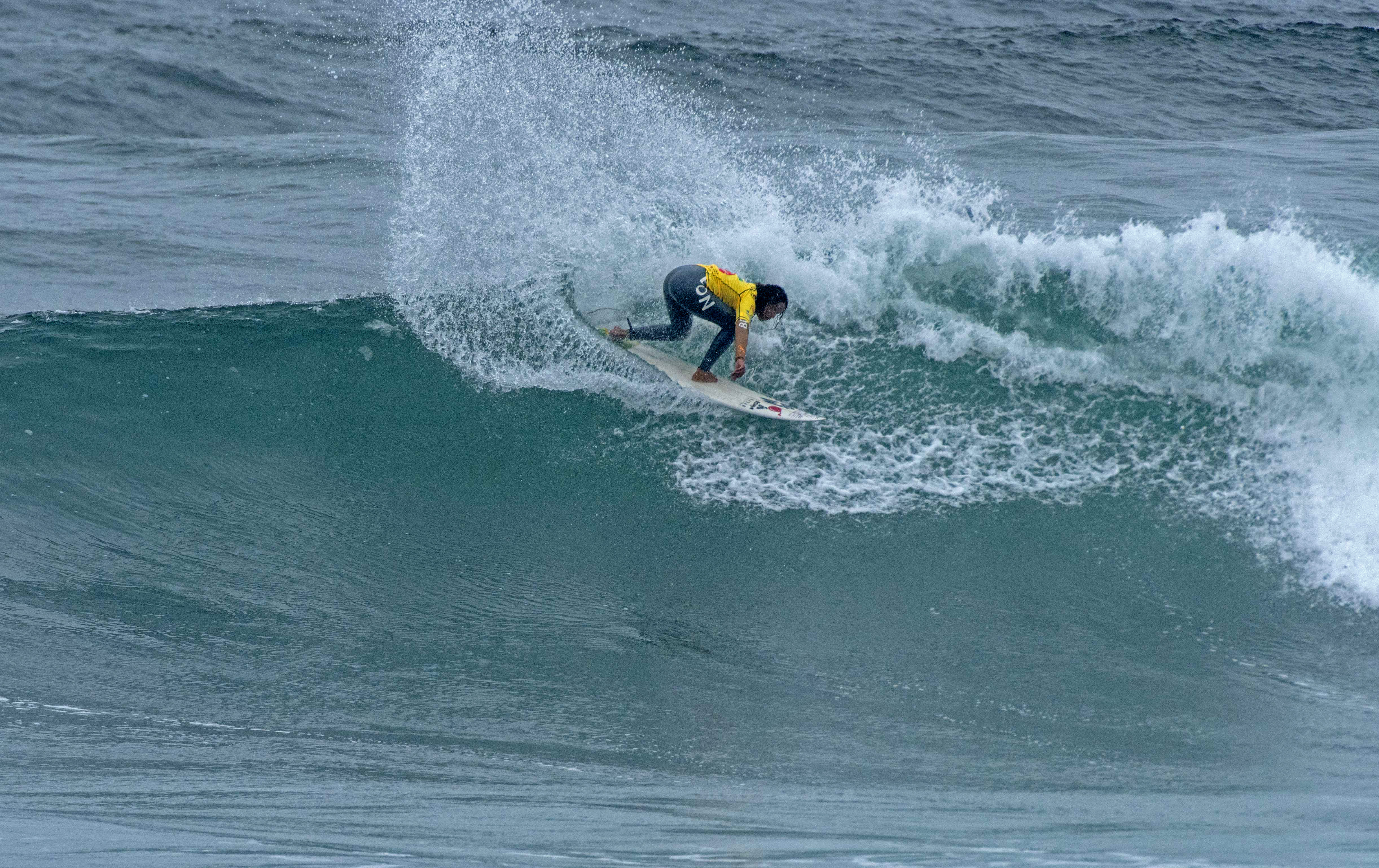 Peru s Analí Gomez en route to earning the Women s Gold Medal at the 2014  ISA World 8bf234c1c1
