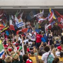 44 naciones unidas en paz para inaugurar el VISSLA ISA Juniors 2018. Foto: ISA / Ben Reed