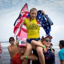 Thumbnail New Country, Girls Participation Records Set for 2018 VISSLA ISA World Junior Surfing Championship