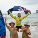 Thumbnail Australia's Shakira Westdorp, Brazil's Luiz Diniz Repeat as SUP Surfing World Champions