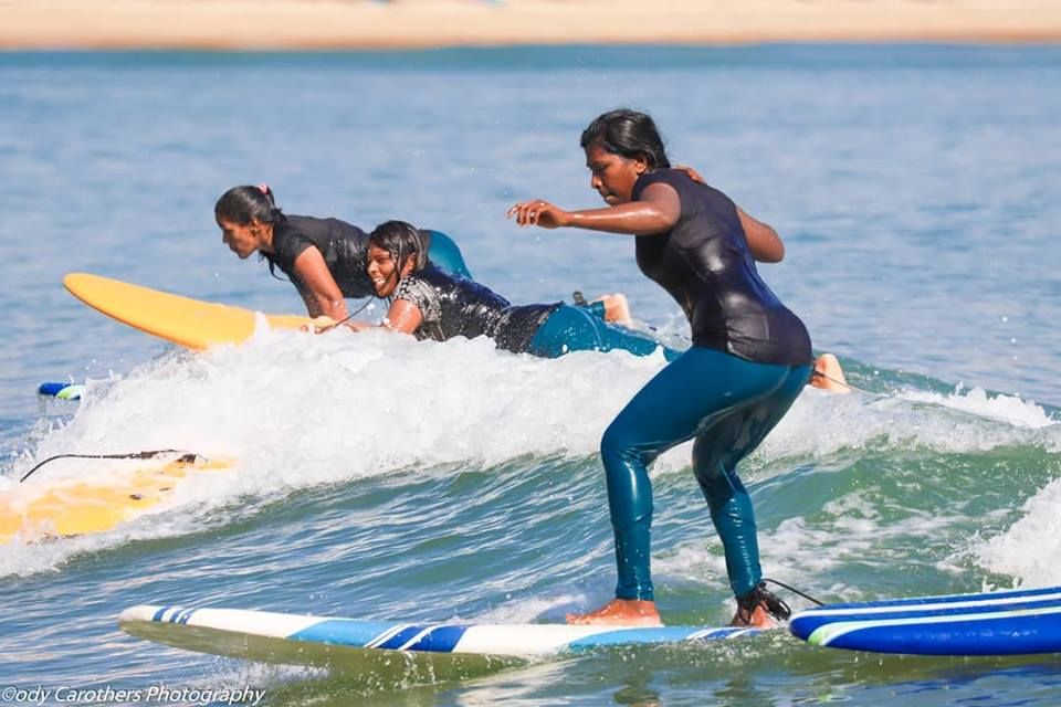 Arugam Bay's Girls Surf Club making waves.
