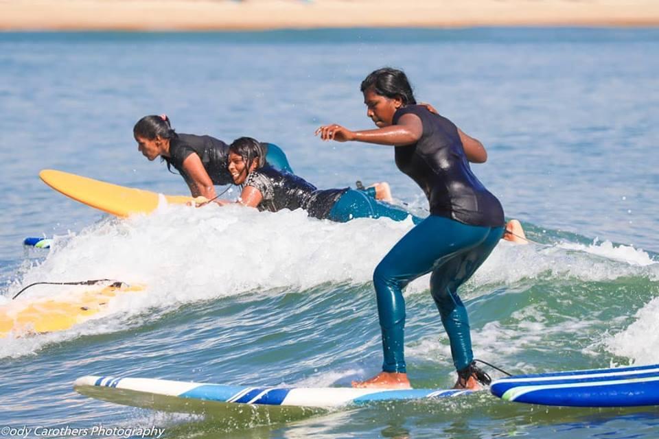 Arugam Bay's Girls Surf Club making waves.