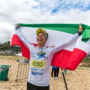 Thumbnail Hungary's Daniel Hasulyo and USA's Candice Appleby Crowned SUP Technical Race World Champions