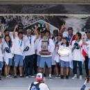 El Equipo de Japón celebra su primera Medalla de Oro en el VISSLA ISA World Junior Surfing Championship de la historia. Foto: ISA /Ben Reed