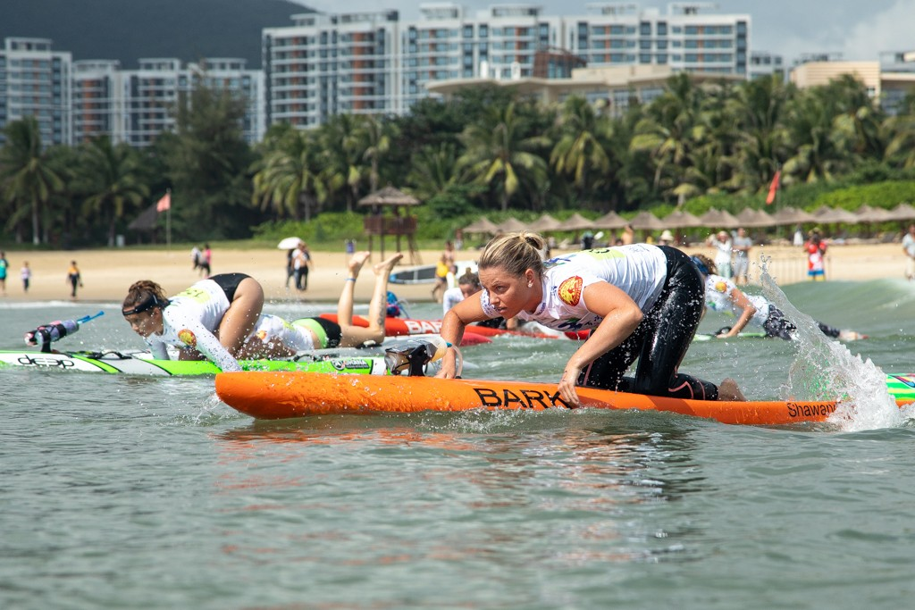 Australia's Rosato becomes the only racer of the event to earn two Gold Medals. Photo: ISA / Pablo Jímenez
