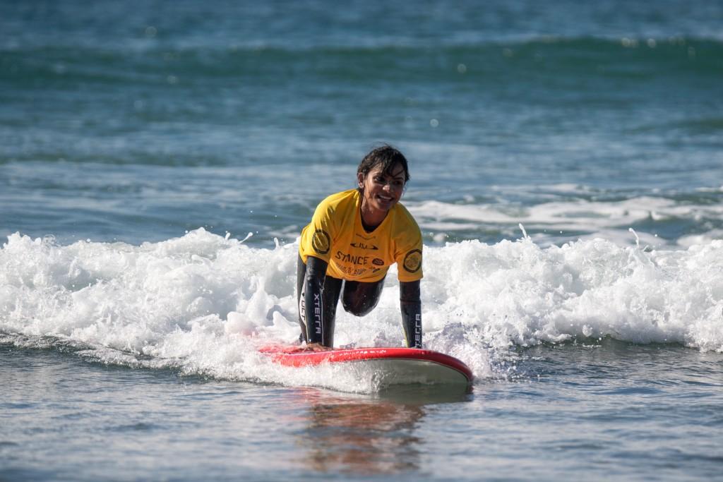 Es difícil no sonreír cuando surfeas una ola. Foto: ISA /Sean Evans