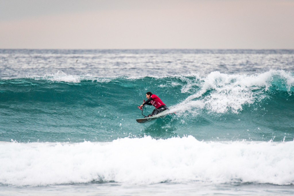 USA's Alana Nichols looking like a strong contender to repeat in the Women's AS-3 Division. Photo: ISA / Sean Evans
