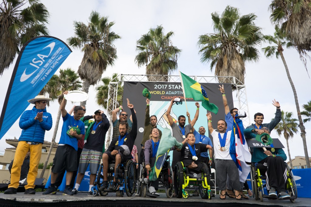 Team Brazil will look to earn their third consecutive Team Title. Photo: ISA / Sean Evans