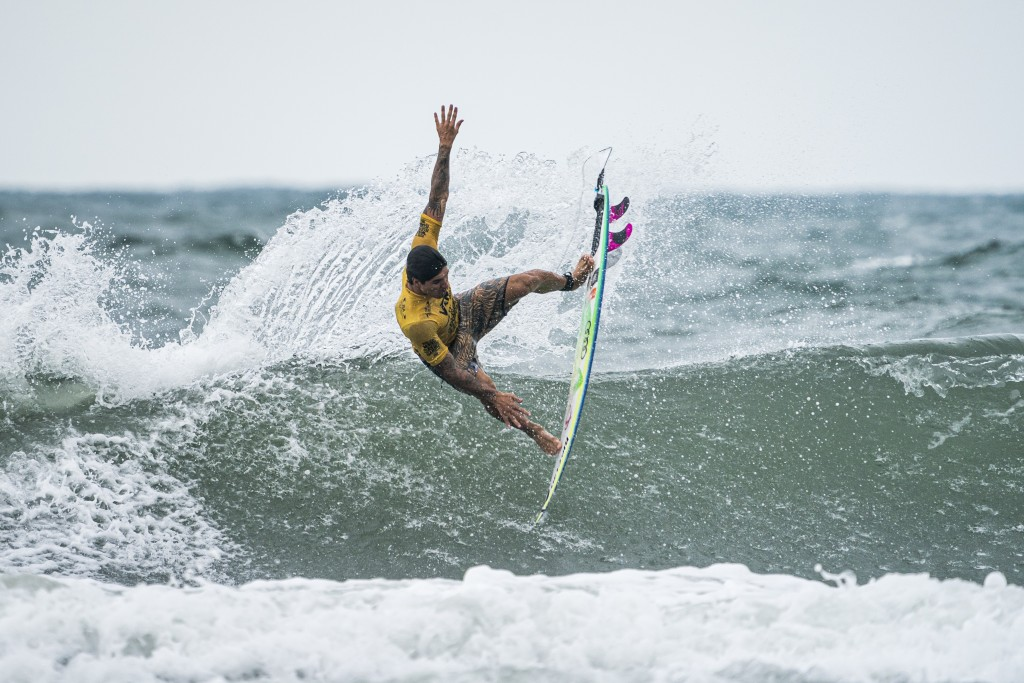 Gabriel Medina leading Team Brazil to the top of the team rankings as the event heads into the final stretch. Photo: ISA / Ben Reed