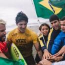 El Equipo de Brasil sigue completo mientras intenta mantenerse en la primera posición del ranking por equipos. Foto: ISA / Pablo Jimenez