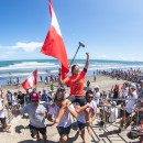 Thumbnail Peru's Sofia Mulanovich Seizes Women's Gold Medal at 2019 ISA World Surfing Games presented by Vans