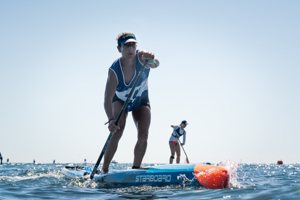 Spain's Esperanza Barreras was unstoppable in the Women's Technical Race. Photo: ISA / Sean Evans