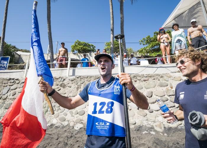 Titouan Puyo de Francia volvió al ritmo que le dio el Oro en 2014 en Nicaragua. Foto: ISA / Ben Reed