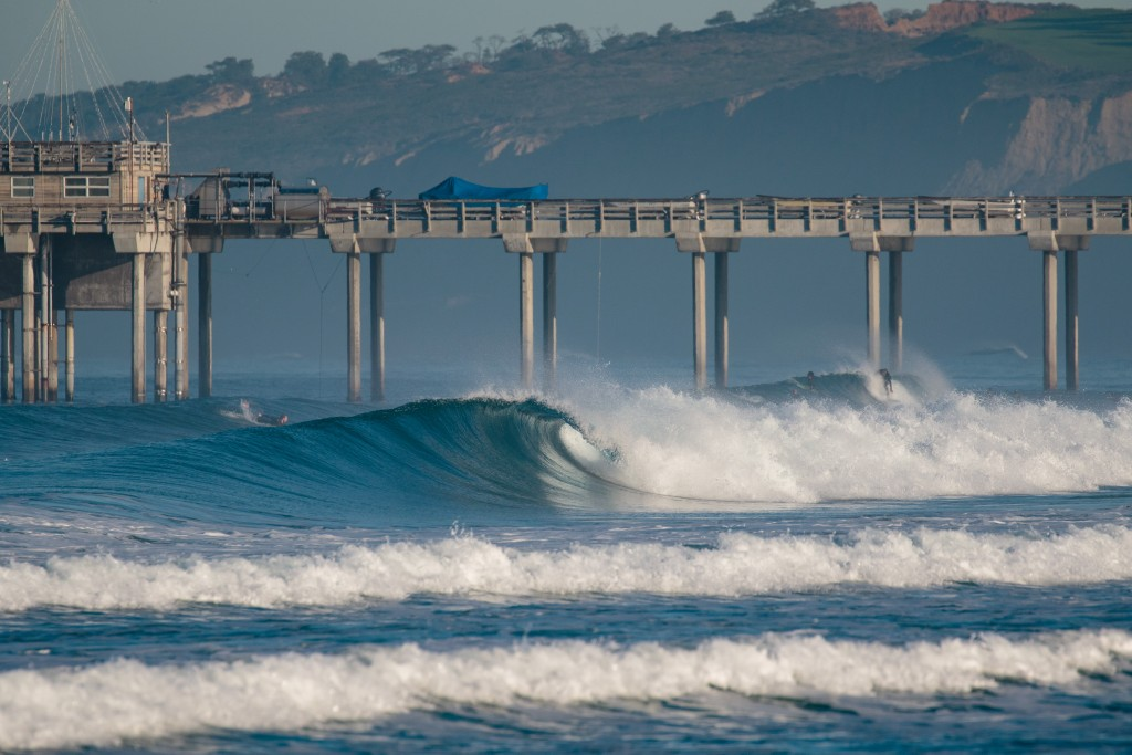 La Jolla Shores beach will continue to host the World Championship. Photo: ISA / Chris Grant