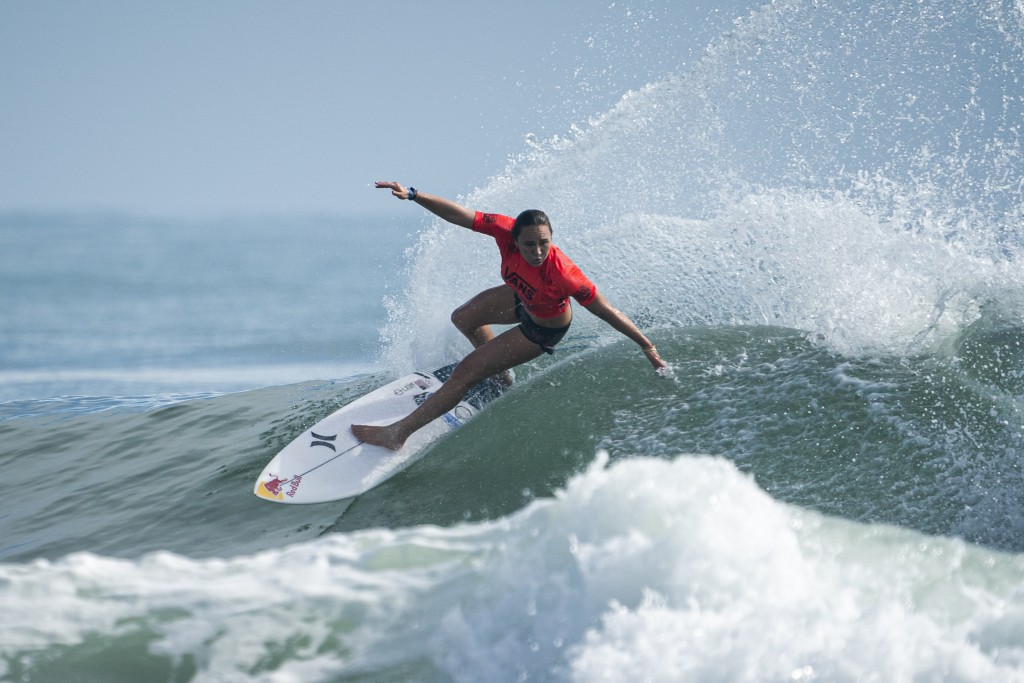 Fresh off a WSL Title, USA's Carissa Moore will head to Tokyo 2020 to be among the first crop of Olympic surfers in history. Photo: ISA / Ben Reed