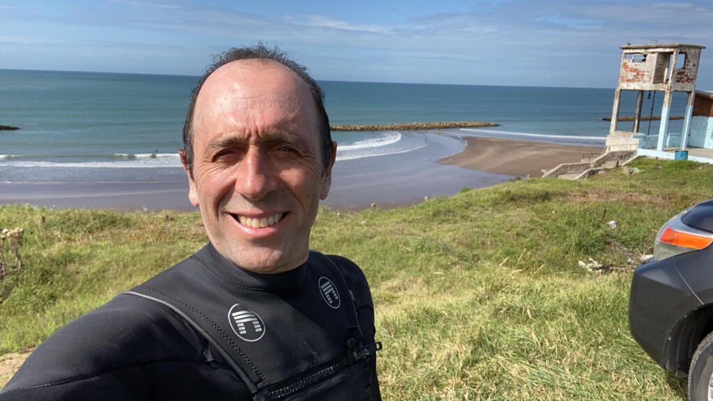 Selfie after my last surf yesterday.